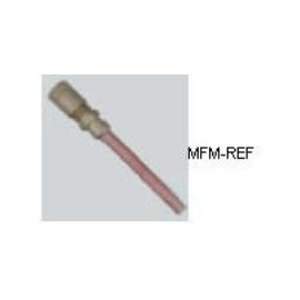 """A-31002 Schrader válvula 1/8 """"schräder x tubo de cobre"""