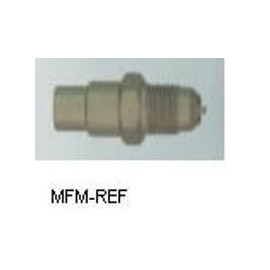 A-40720 Schräder valves, 3/8 SAE schräder x solder