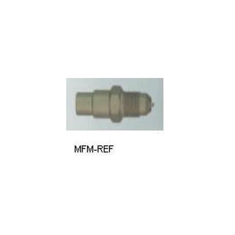 A-40720 Schräder valves, 3/8 SAE Schräder x soudure