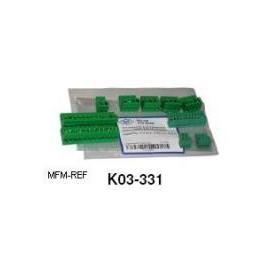 K02-540 Alco Emerson Terminal block, branchez les connecteurs du Kit EC2-552