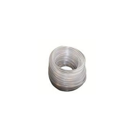 PVC connection hose for drainage 10 x 14 mm, per meter