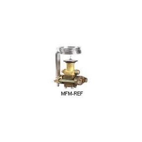 """TES12 Danfoss R404A-R507 1/4""""  válvula de expansão termostática de flare Danfoss nr.067B3349"""