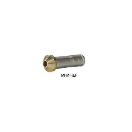 0X/S doorlaat Danfoss flare x soldeer met verwisselbaar filter T2 / TE2. 068-2089