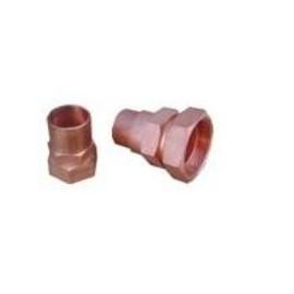 """Rotalock joelho 1.1/4""""- 12 UNF saída 2 x 7/8"""" para compressores paralelos"""