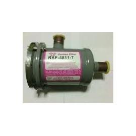 """RSF-4813-T  Sporlan 1.5/8"""" ODF zuigfilter met uitwisselbare elementen, met manometeraansluiting"""