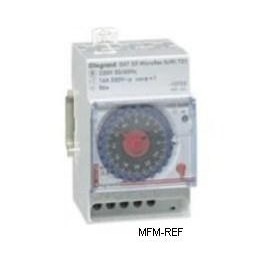 MicroRex T31 Legrand tempo analógico interruptor de relógio