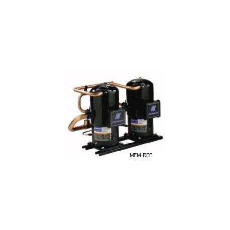 ZRT216K*E Copeland scroll tandem compressor, air conditioning, 400-3-50, solder
