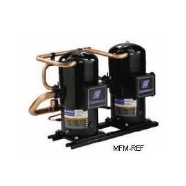 ZRT288K3E Copeland scroll tandem compressor, air conditioning, 400-3-50,  solder