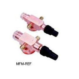 120Z0129 Danfoss Rotalock - válvula de flange para compressor MLZ 58-76