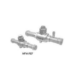 TTL 1/2 SV robinet à boisseau sphérique avec schrader 1/2 ODF