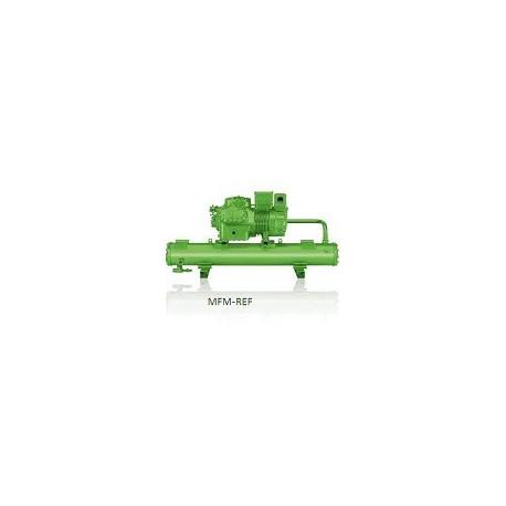 K123H/2FES-3Y Bitzer unidad condensadora semihermético refrigerado por agua