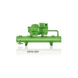 K1973T/66FE-80Y Bitzer agregado refrigerados por agua para la refrigeración