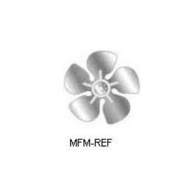 Elco 300 mm ala di ventilatore Ventola ala suzione, (sopra il motore che soffia) 1400m³/h