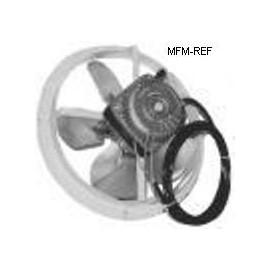 Elco VN5 13/A 1053 172/1550 motor de ventilador,con anillo metálico, 5 vatios