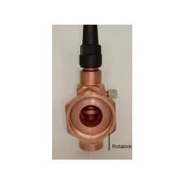 "1 1 /8"" o.d. - 1 3/4"" UNF Rotalock valve  28mm solder"