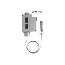 RT140 Danfoss differenziale del termostato riempimento assorbimento +15°C /+45°C. 017-523666
