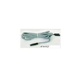 S6S PTC Dixell temperatuur opnemer 5 mtr Silicone IP67 -55/+140°C  watererdicht,  siliconenkabel  5 meter