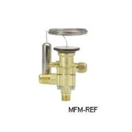TES 5 Danfoss R404A thermostatic expansion valve, 1/4 ODF,  -40°C tot - 15°C- MOP 10°C Danfoss nr. 067B3384
