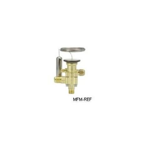 TES5 Danfoss R404A  la vanne d'expansion thermostatique 1/4 flare, -60°C tot - 25°C- MOP -20°C.067B3343