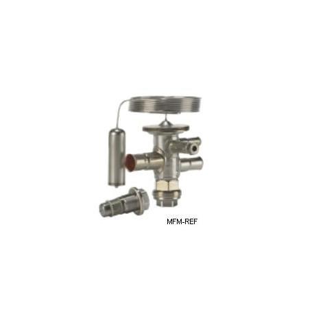 TUAE Danfoss R134a 1/4x1/2 válvula de expansão termostática MOP +15°C 068U2214