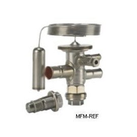 TUA Danfoss R134a 1/4 x 1/2  válvula termostática de la extensión sin MOP 068U2204