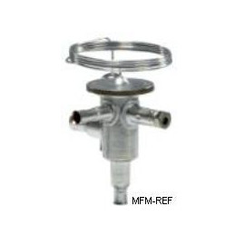 TUBE9 Danfoss R134a 3/8x1/2 la vanne d'expansion thermostatique acier inoxydable.068U2026
