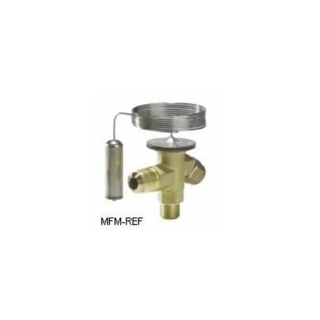 TEX2 Danfoss R22-R407C 3/8x1/2 válvula de expansão termostática passagem permutáveis. 068Z3225