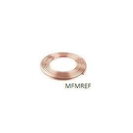 "3/8"" cobre tubos de refrigerante por el carrete 15 m"