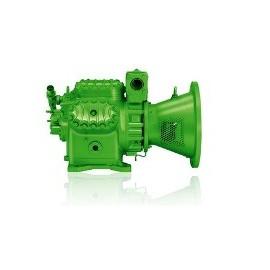 4P.2Y Bitzer open compressor voor R134a. R404A. R507