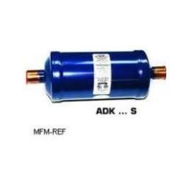"""ADK 083 Alco filtro (- / 3/8 """") conexão SAE-Flare modelo fechado"""