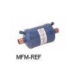 """Emerson ASF-50 S9 Alco filtro de sucção 1.1/8"""" conexão ODF modelo fechado com 2 conexões de manômetro"""