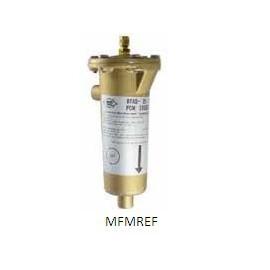 """BTAS-417 Alco filtro de sucção 2.1 / 8 """"conexão ODF com elemento substituível"""