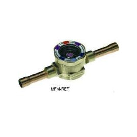 """MIA 012 Alco visor de vidro 1/2"""" fechado com indicador de umidade"""