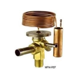 """TILE-SW Alco valvola termostatica di espansione 3/8"""" x 1/2"""" acier inoxydable Alco nr.802466"""