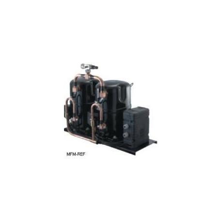 TAGD 4586Y Tecumseh hermetische tandem compressor H/MBP-R134a-400/440