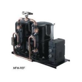 TAGD5590C Tecumseh compresor hermético tandem, aire acondicionado, R407C, 400V-3-50Hz