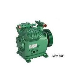 W6GA Bitzer open compressor R717 / NH³ voor koeltechniek