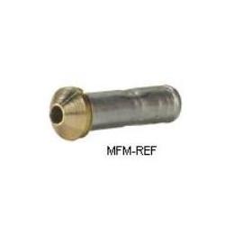 01/S Orifice Danfoss flare x solda com filtro removível para  T2/TE2. 068-2091