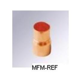 1/2 x 1/4 cobre de redutor deslizante h x inw