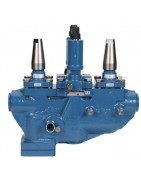 Hansen valves and valves for industrial refrigeration