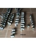 Acessórios de compressão galvanizado para aquecimento