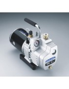 Vacuum pumps and accessories for refrigeration