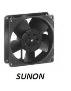 Sunon compact fans ball bearing or sliding bearing